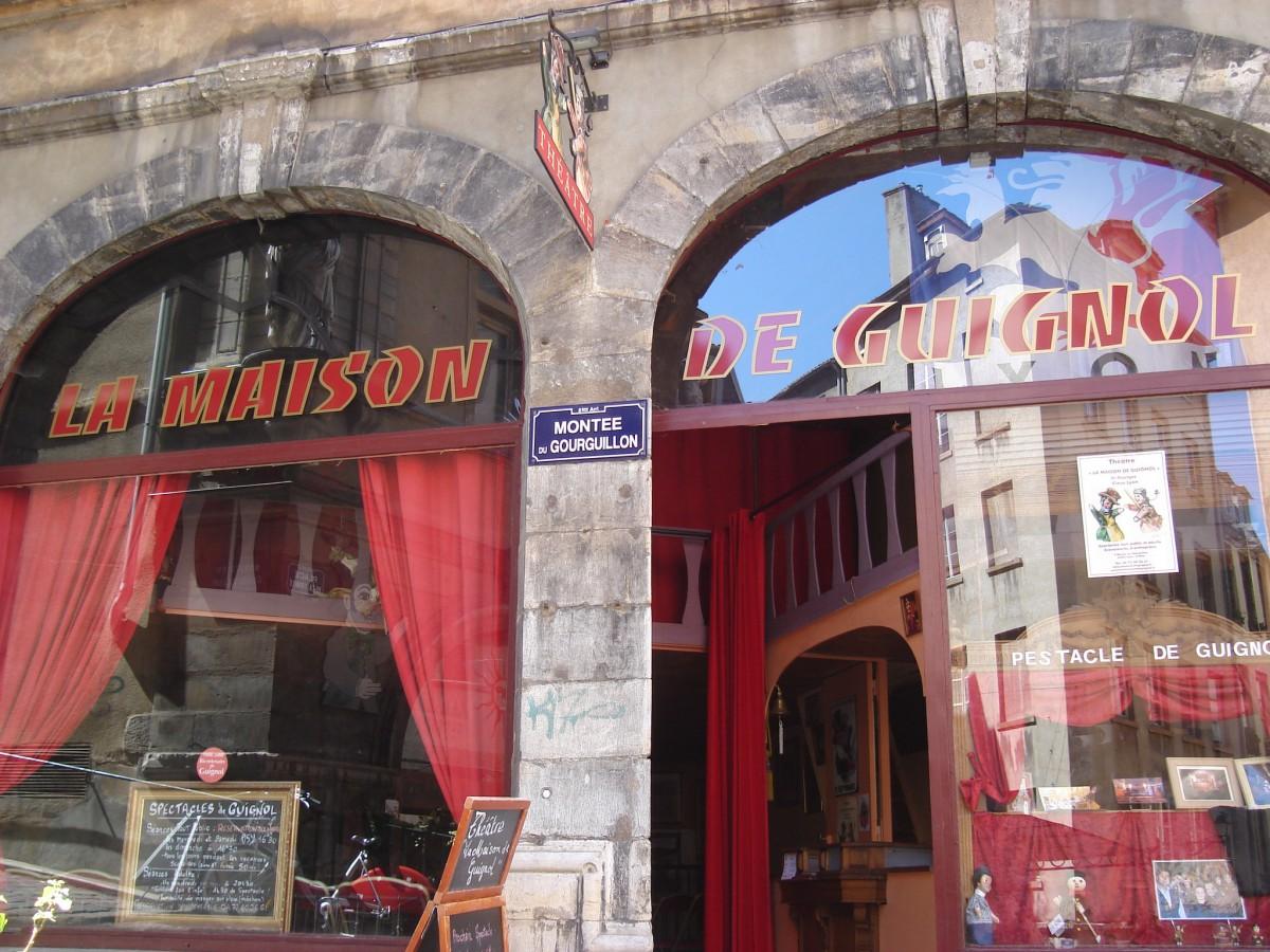 La maison de Guignol Lyon © Gonedelyon - licence [CC BY-SA 3.0] from Wikimedia Commons