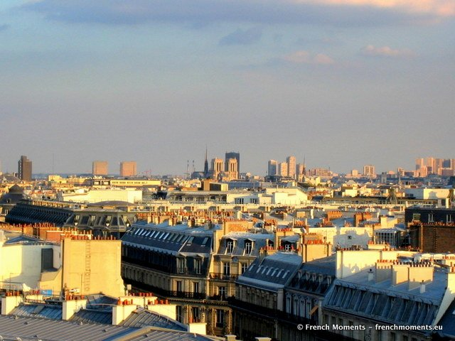 View over Paris from the Printemps Terrace © French Moments