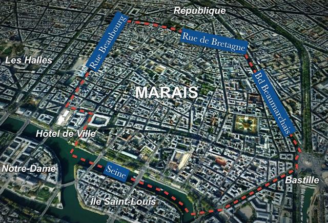 Map Of Marais French Moments: Map Marais Paris At Infoasik.co