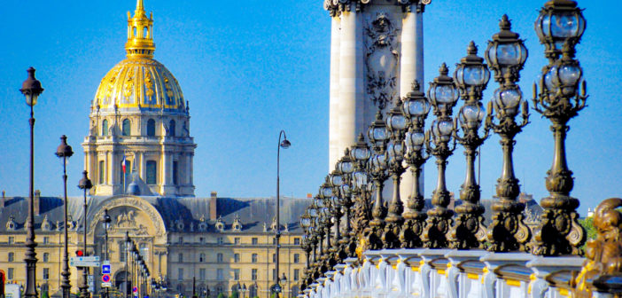 Facts about Paris - Pont Alexandre III © French Moments