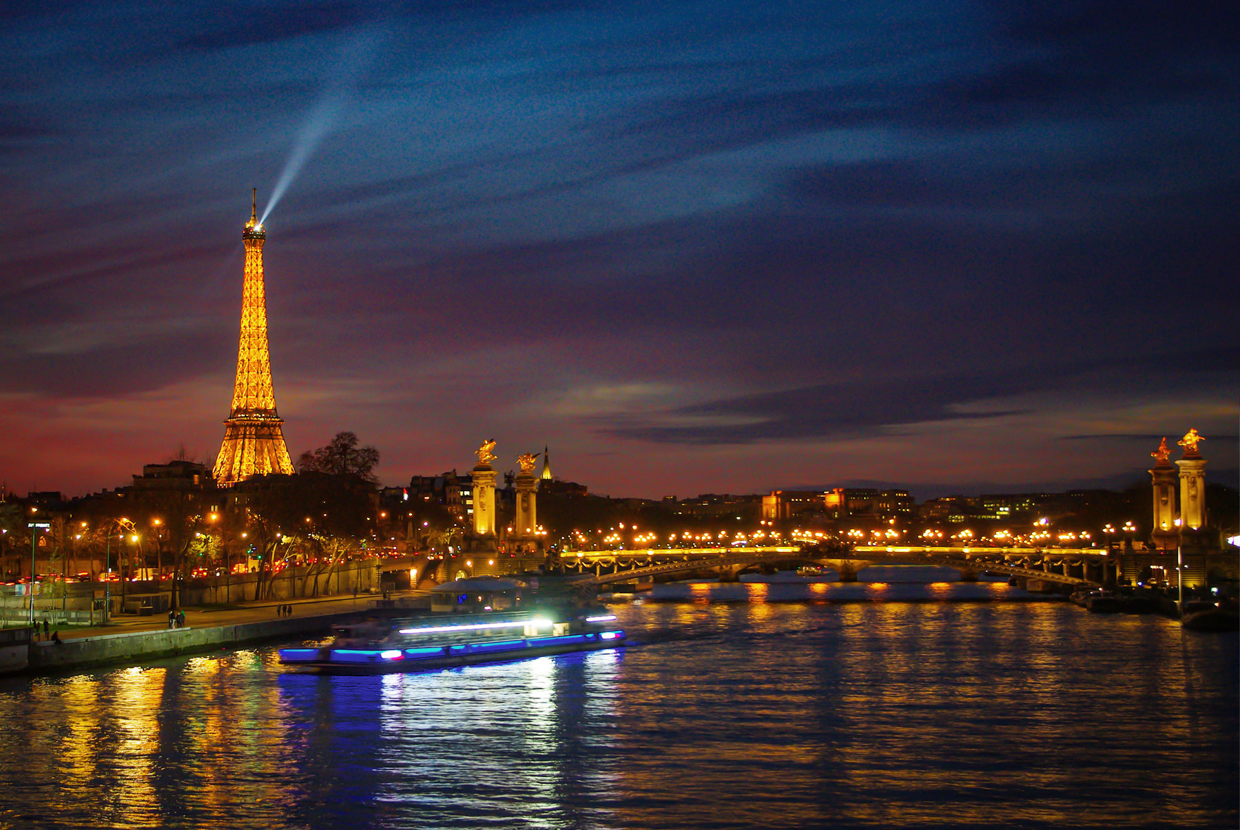 View from Pont de la Concorde © French Moments