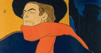 Scarf by Toulouse-Lautrec