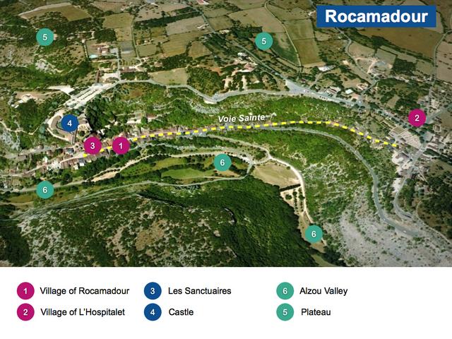 Rocamadour Maps