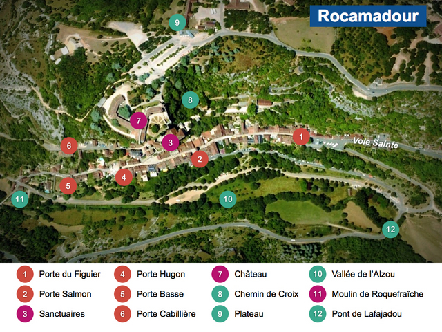 Rocamadour Maps French Moments
