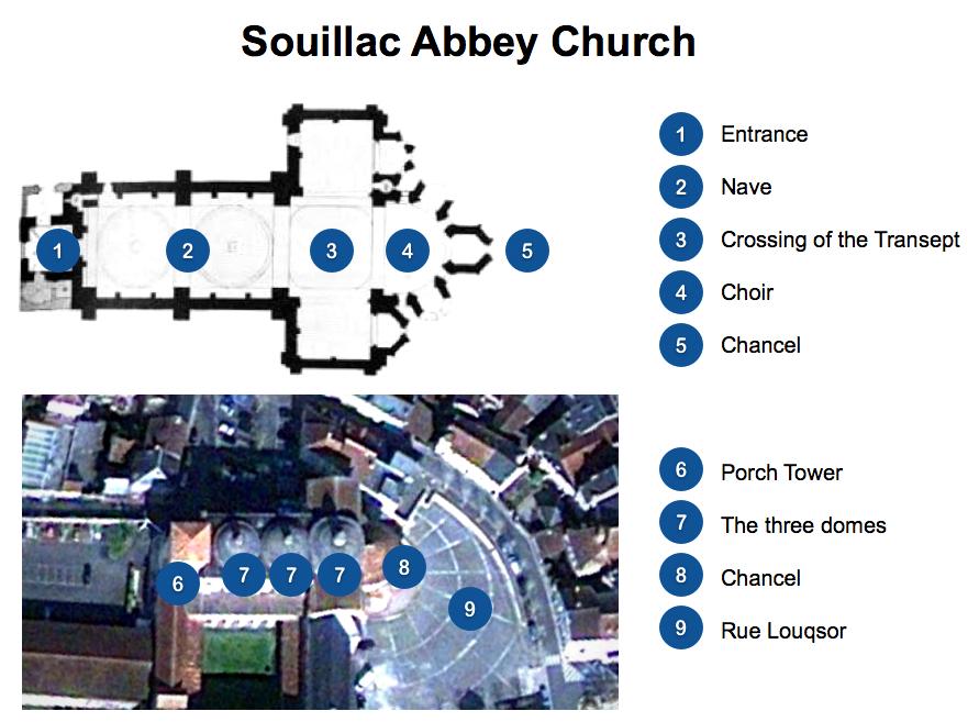 Souillac Church Floor Plan