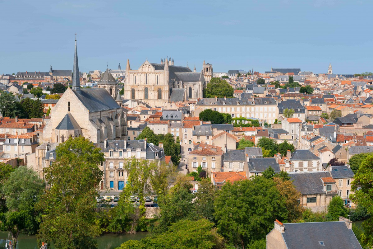 The Cityscape of Poitiers - Stock Photos from SergiyN - Shutterstock