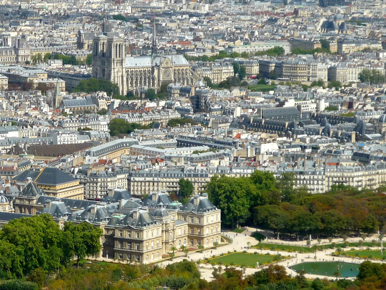 View from Tour Montparnasse © French Moments