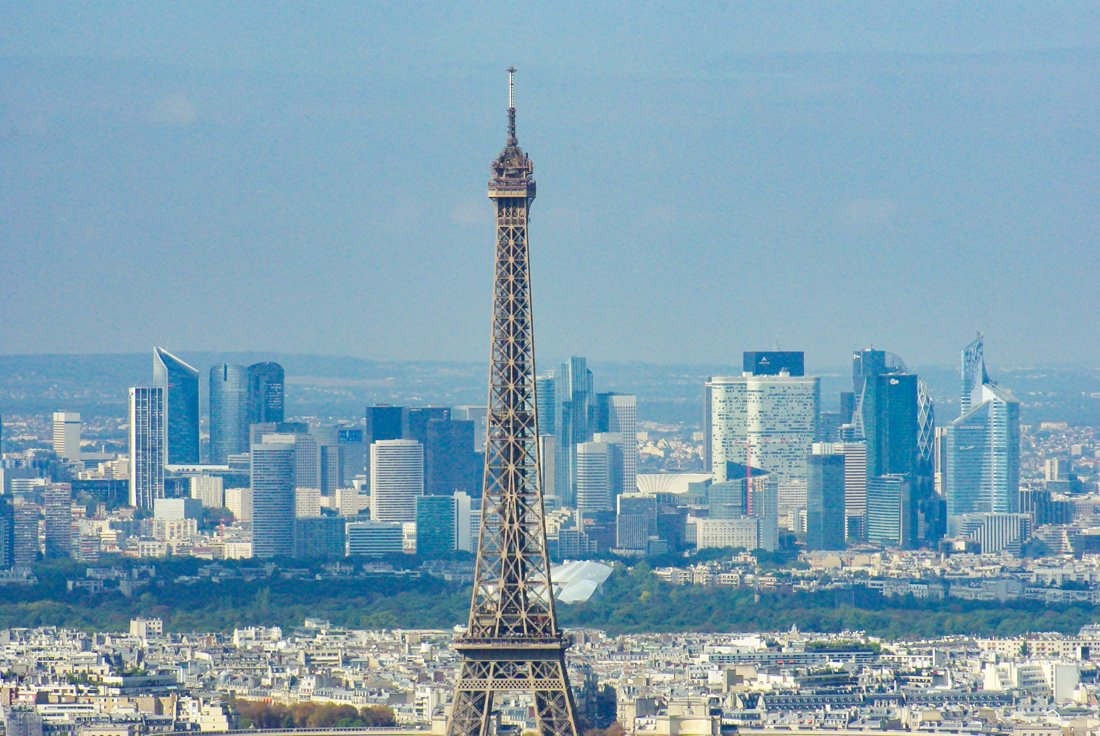 Tour Montparnasse - The top of the Eiffel Tower © French Moments