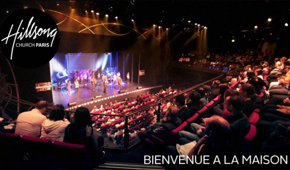 Hillsong Church Paris, photo from www.hillsong.fr