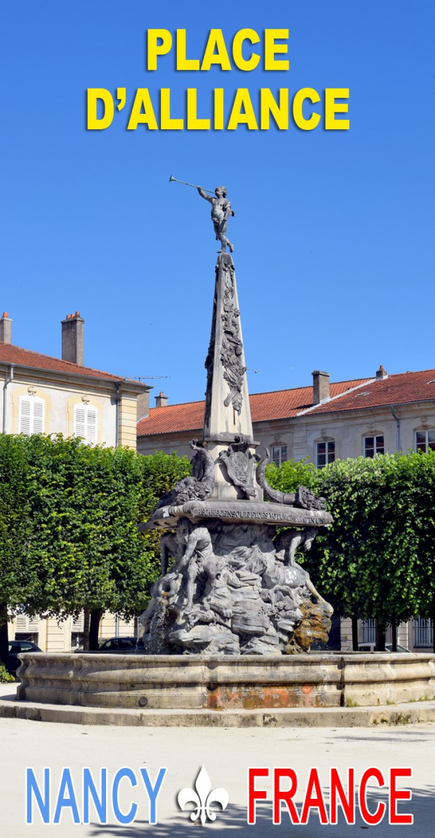 Discover the Place d'Alliance in Nancy © French Moments