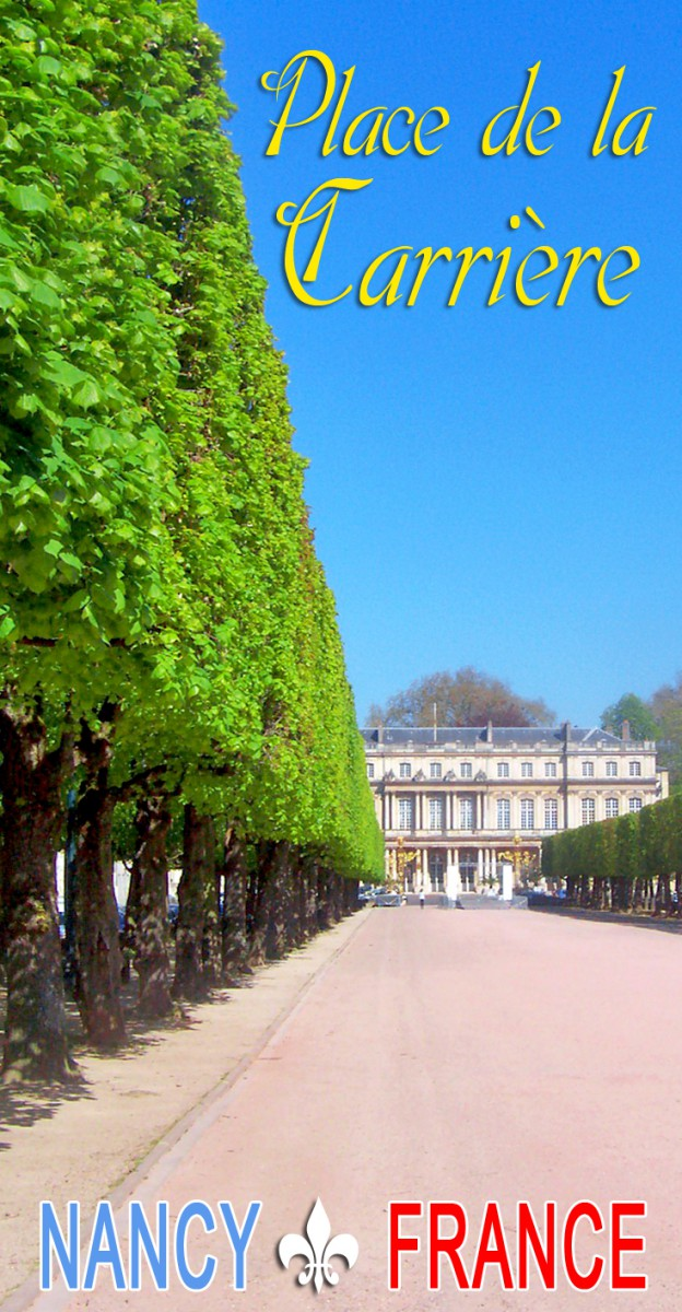 Discover the beautiful square of Place de la Carrière in Nancy © French Moments