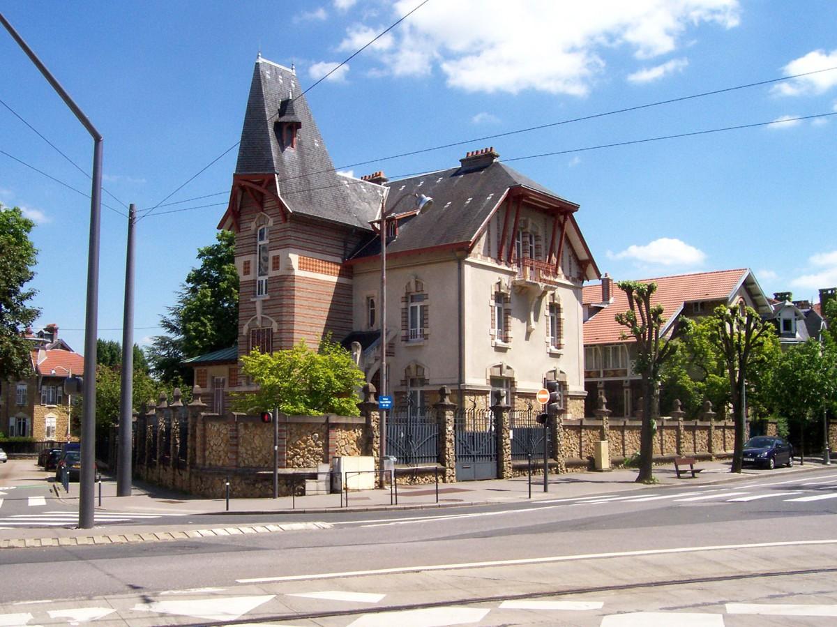 Villa Lang, 1 Boulevard Clemenceau © Michel Guernier - French Moments