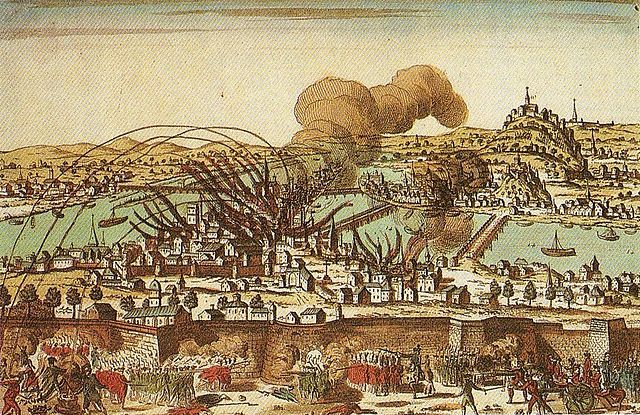 The Siege of Lyon during the French Revolution (1793) (public domain)