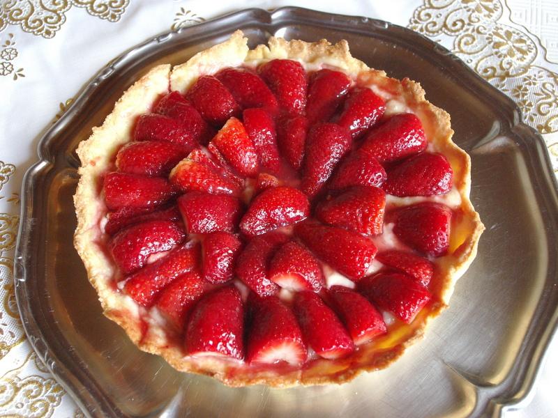 Tarte aux fraises © French Moments