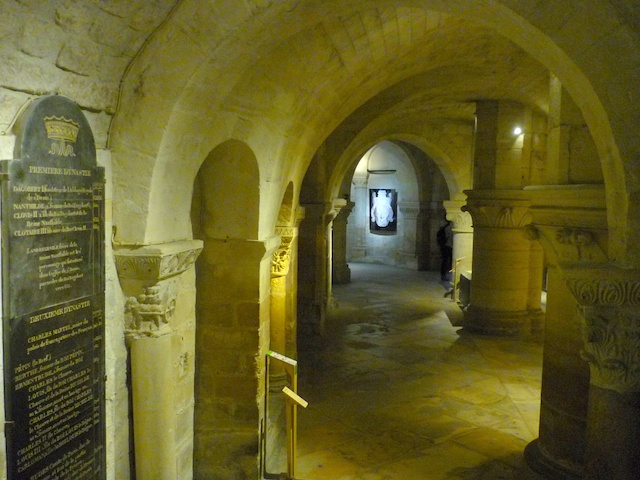 The crypt, Saint-Denis Basilica © French Moments