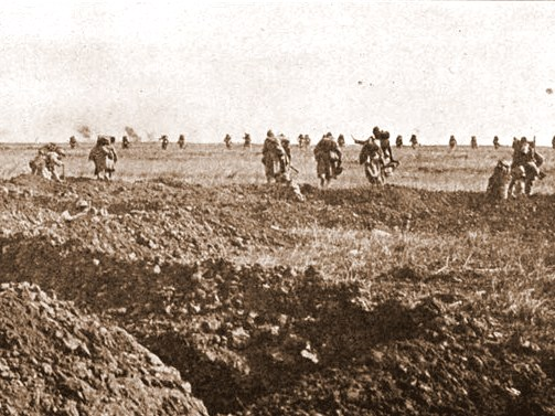 Assault in Chemin des Dames