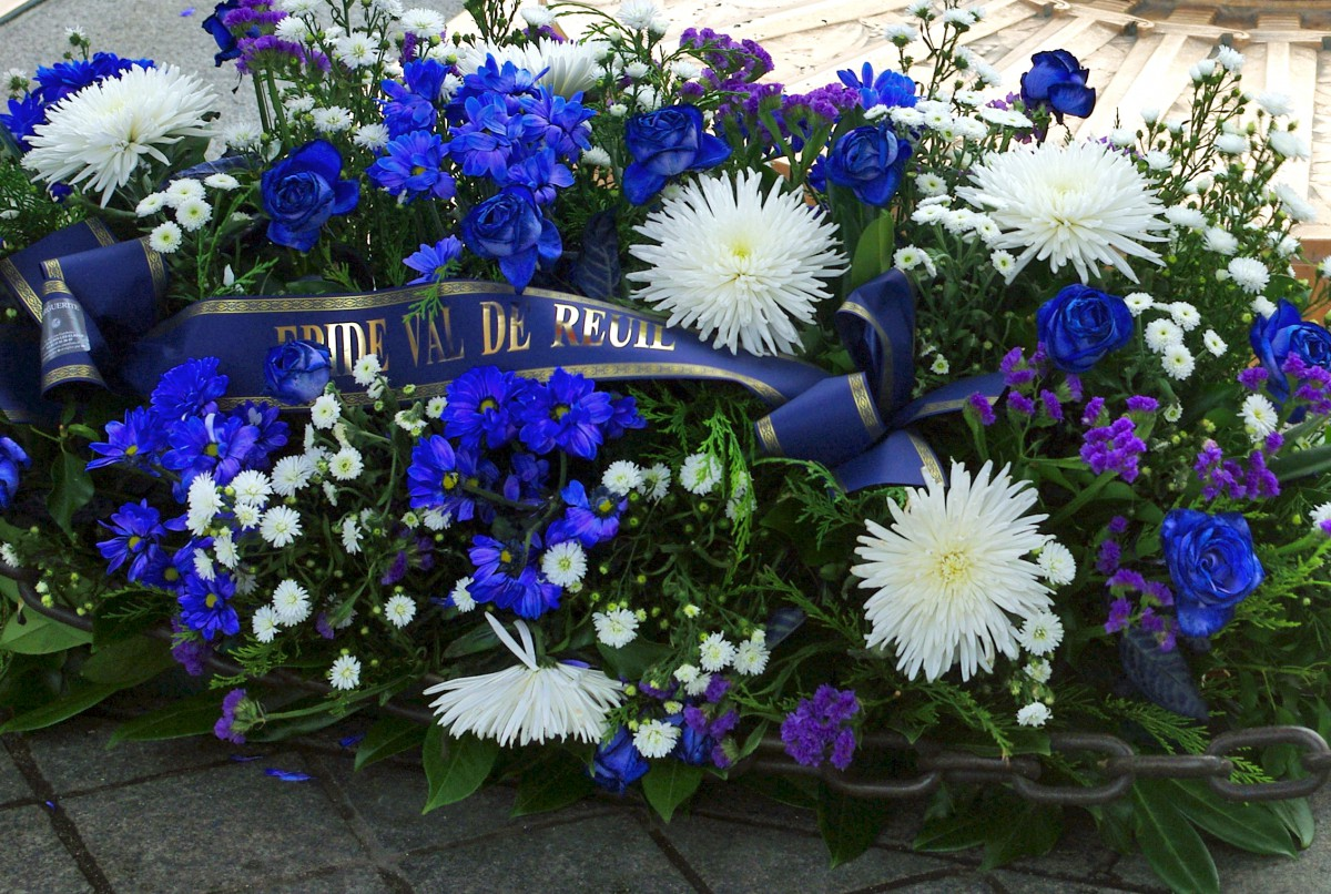 Bleuet de France for World War I Armistice Day © French Moments