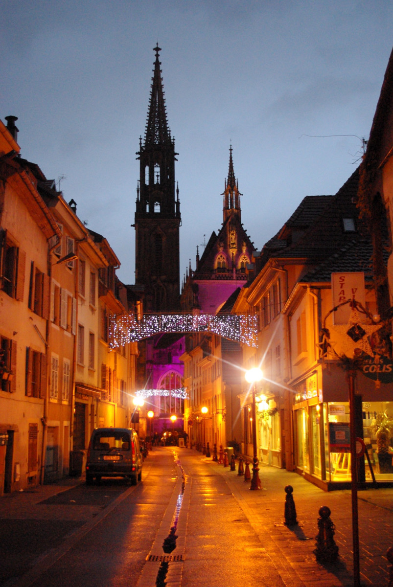 Old town of Thann © French Moments
