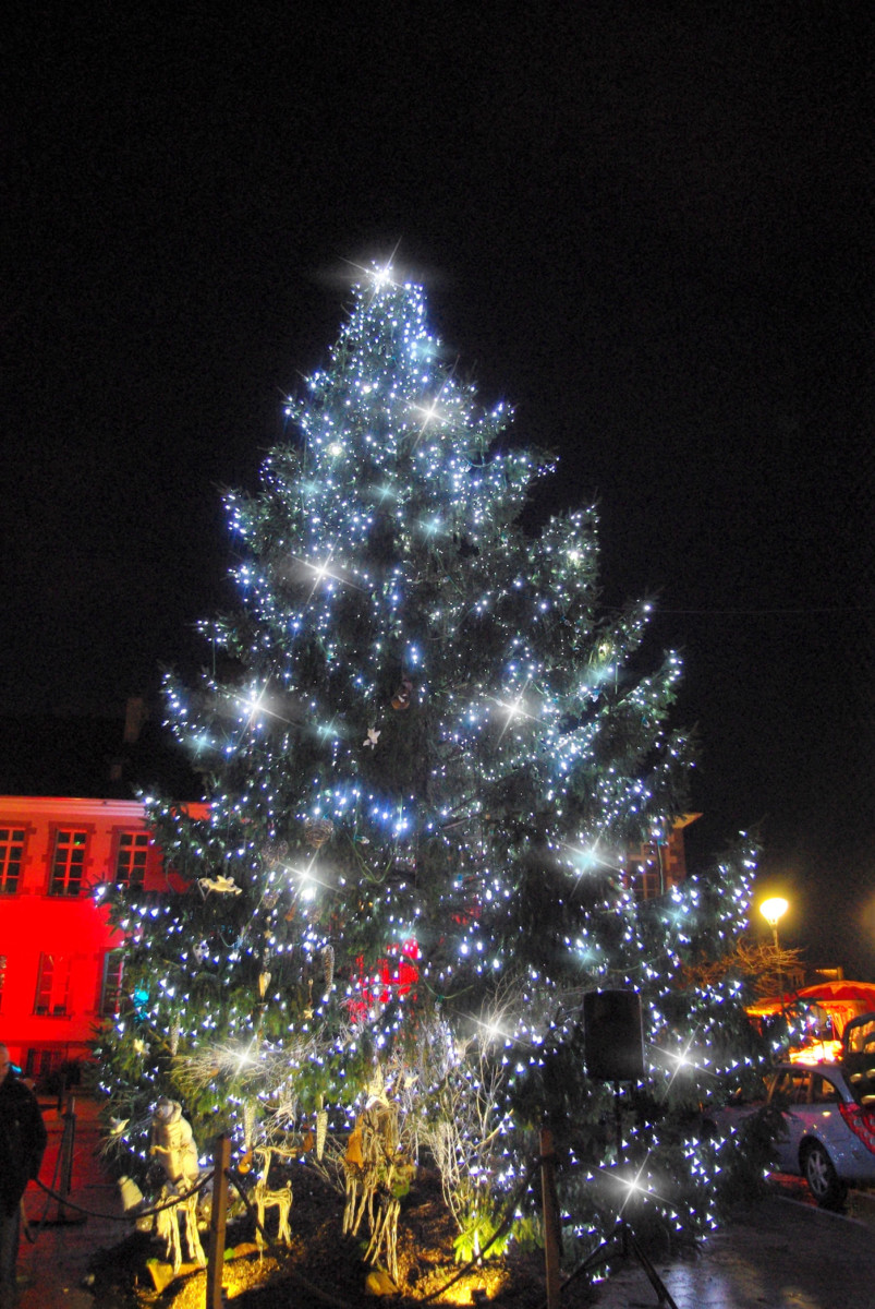 The Christmas tree of Thann © French Moments