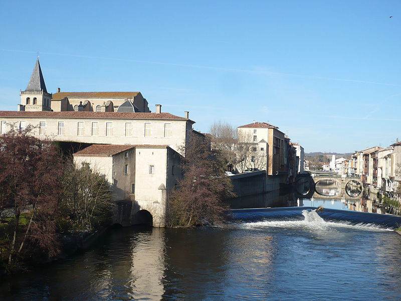 Castres © Roudière CC-BY-SA 3.0 from Wikicommons