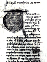 First page of one of the Consistori's texts