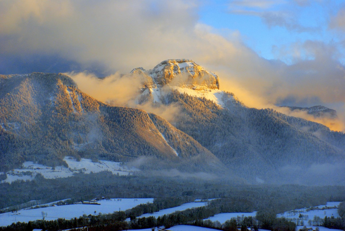 A French Winter Wonderland in the Alps © French Moments