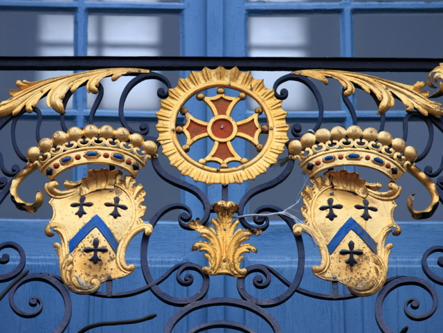 Coats of arms in balcony of Toulouse Capitole © Caroline Léna Becker - licence [CC BY-SA 3.0] from Wikimedia Commons