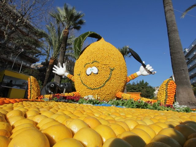 In Menton, it's all about lemon! © Office de Tourisme de Menton