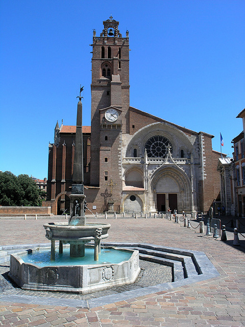 Toulouse Cathedral © Eric Pouhier - licence [CC BY-SA 2.5] from Wikimedia Commons
