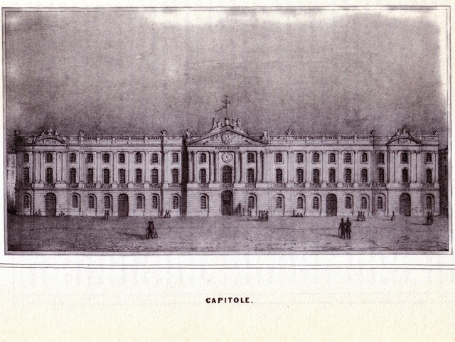 Toulouse Capitole in 19th Century