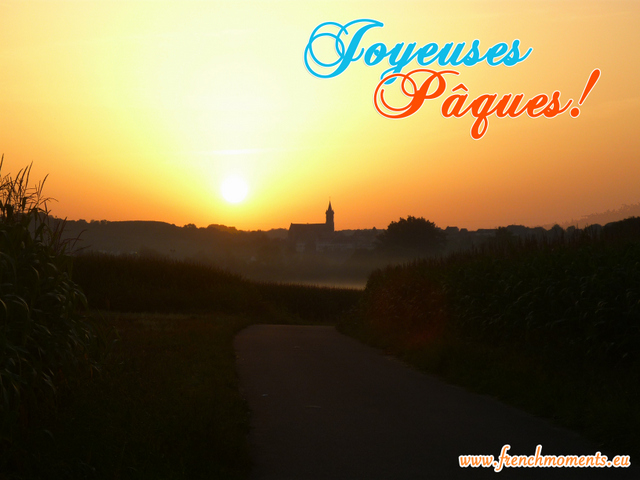 Easter Sunday Paques copyright French Moments