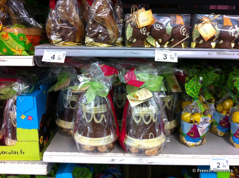 Chocolate in French Hypermarket © French Moments