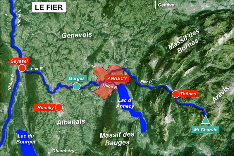 Map of River Fier © French Moments
