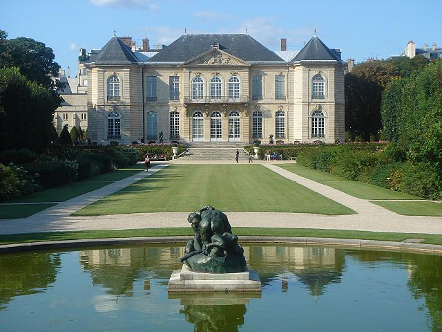 Musée Rodin © Pierre Lannes - licence [CC BY-SA 2.0] from Wikimedia Commons
