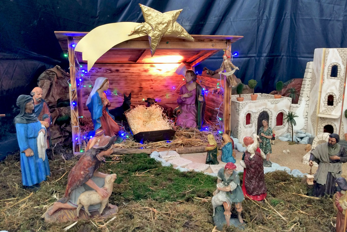 Nativity Scene Saint Francois de Sales Annecy © French Moments