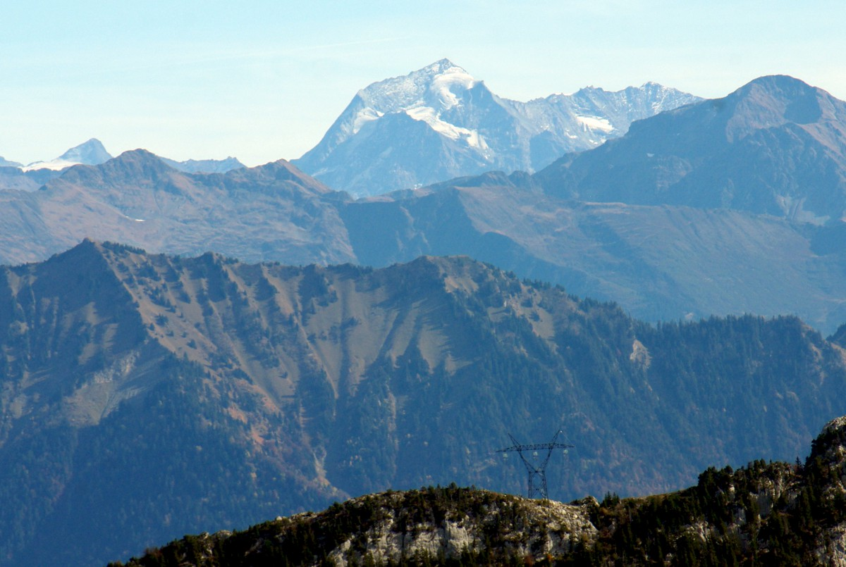 Mont Pourri from Semnoz © French Moments
