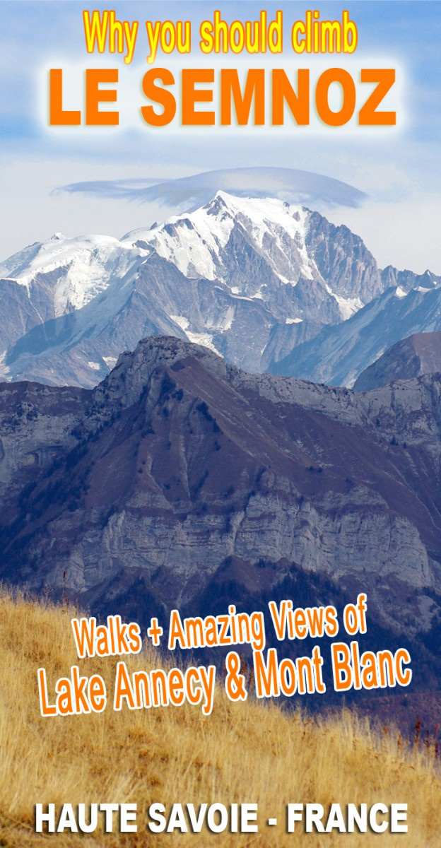 Discover the Semnoz Mountain with amazing views of Lake Annecy and Mont Blanc © French Moments