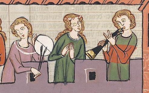 Holidays and celebrations in France - Music in the Middle Ages