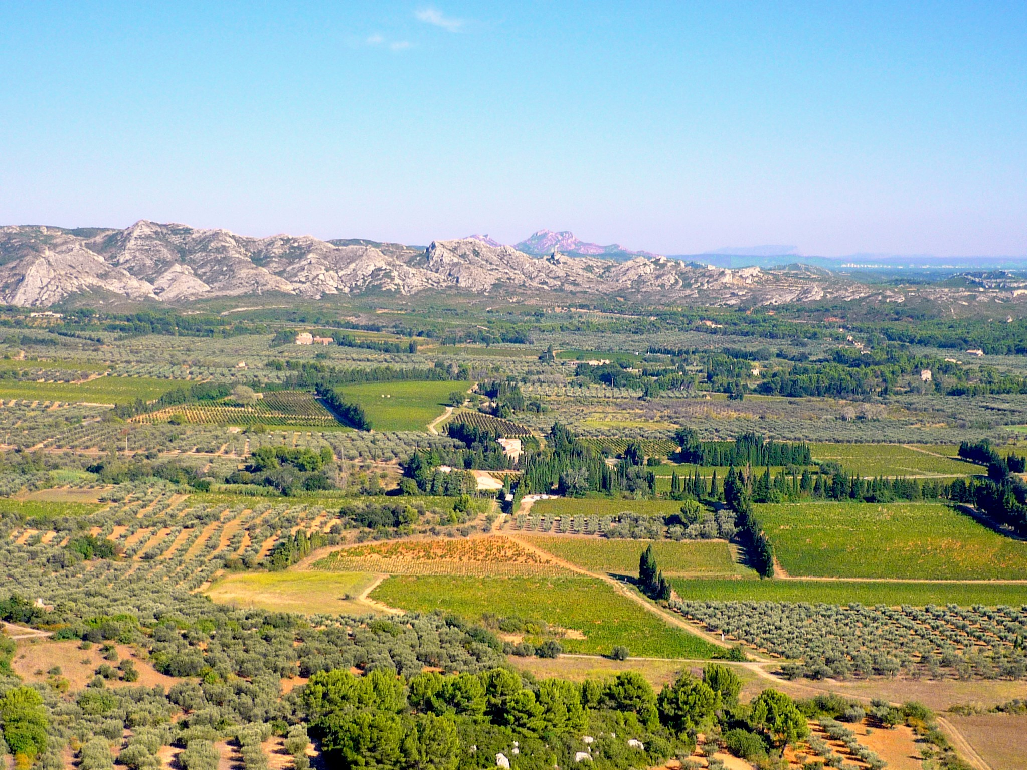 View from the castle of Les Baux-de-Provence © French Moments