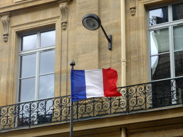 Banque de France Lamp Post © French Moments