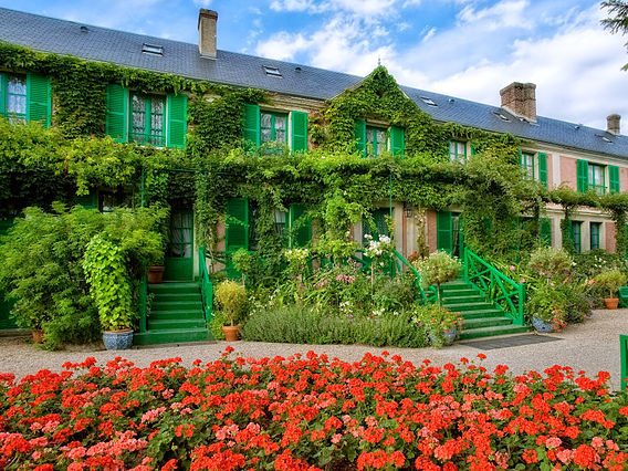 Maison Monet © Fondation Monet - licence [CC BY-SA 3.0] from Wikimedia Commons