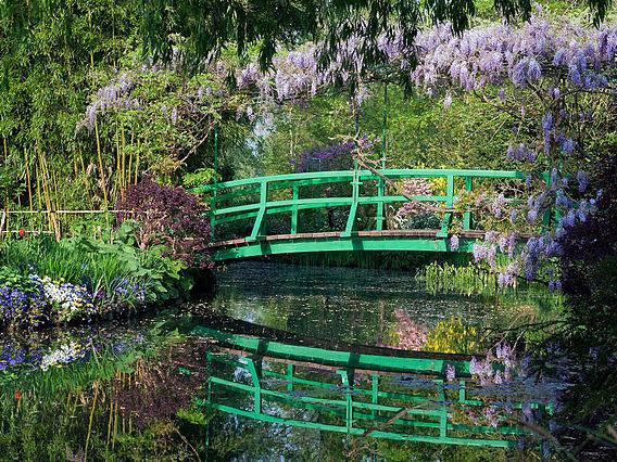 Pont Japonais © Fondation Monet - licence [CC BY-SA 3