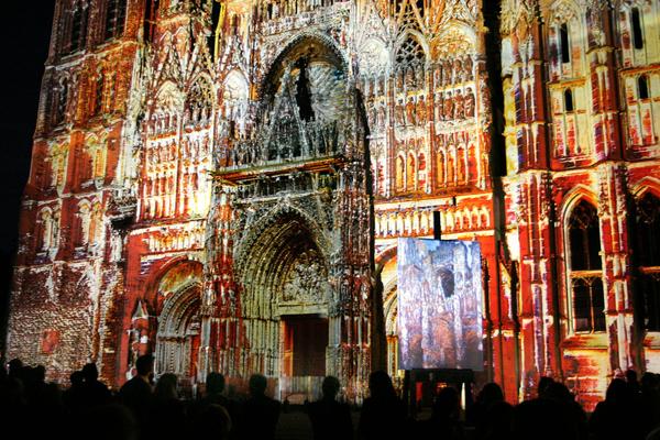 La Cathédrale, de Monet aux pixels © A. Bertereau