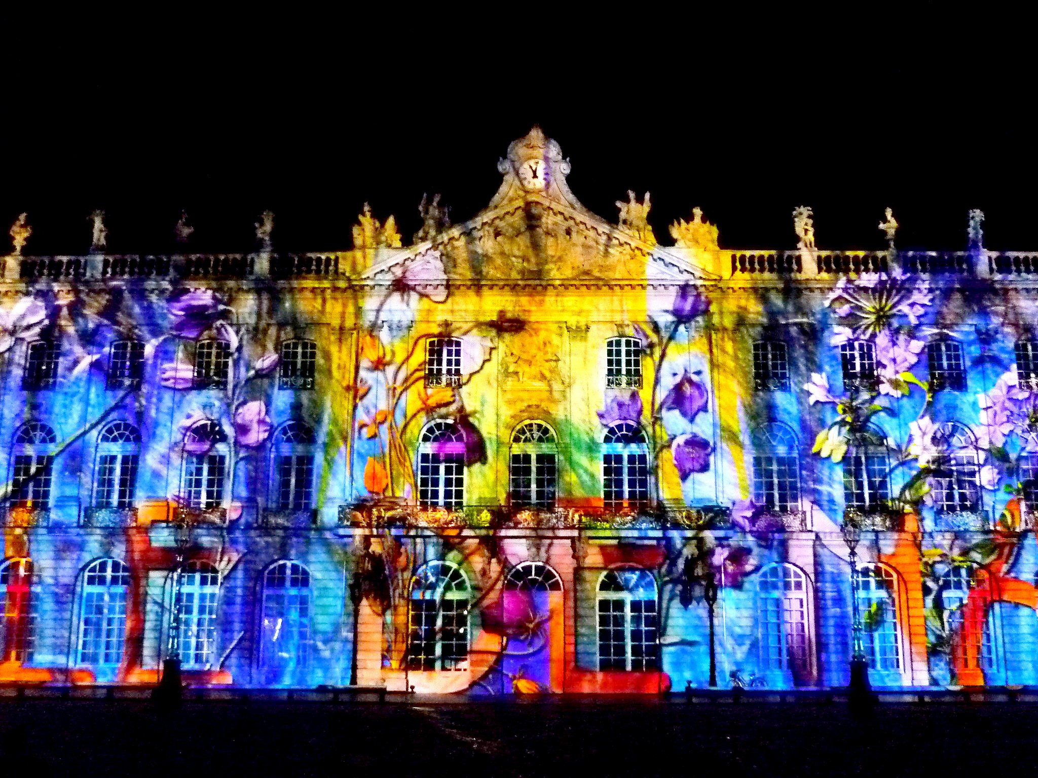 Light Show on Place Stanislas, Nancy © French Moments