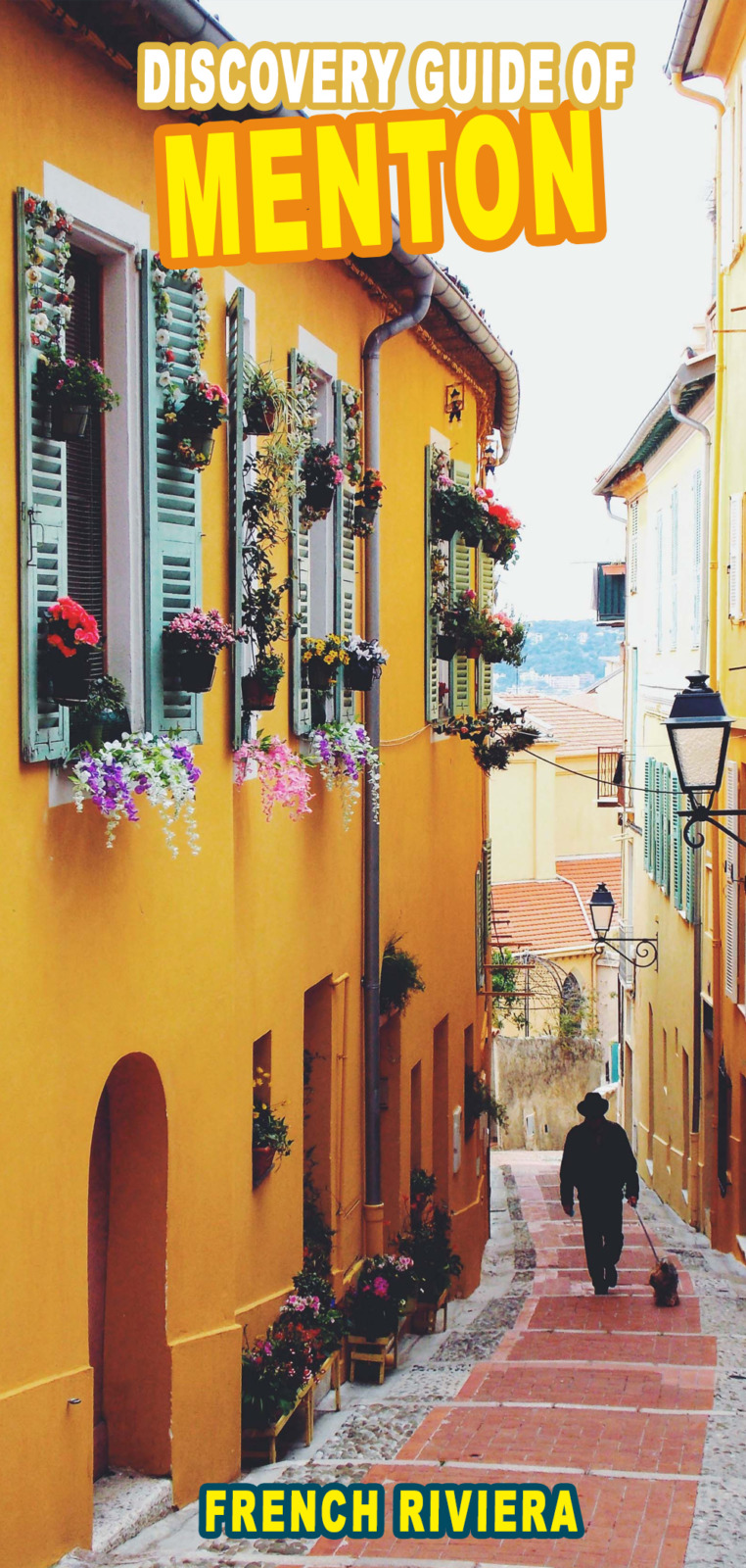 Menton, French Riviera for Pinterest by French Moments