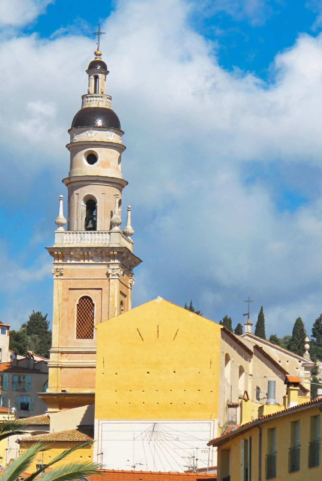 The bell tower of the basilica. Photo: Tangopaso (Public Domain)
