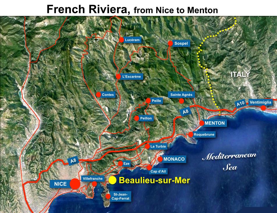 Beaulieu situation map