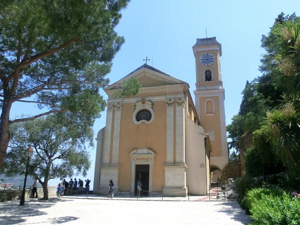 Eze Church by Jose Antonio (Public Domain)