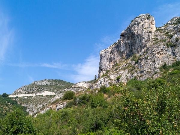 Rocks around Path of Nietzsche
