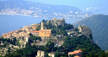 Travel to France - Eze by Jimi Magic (Public Domain)